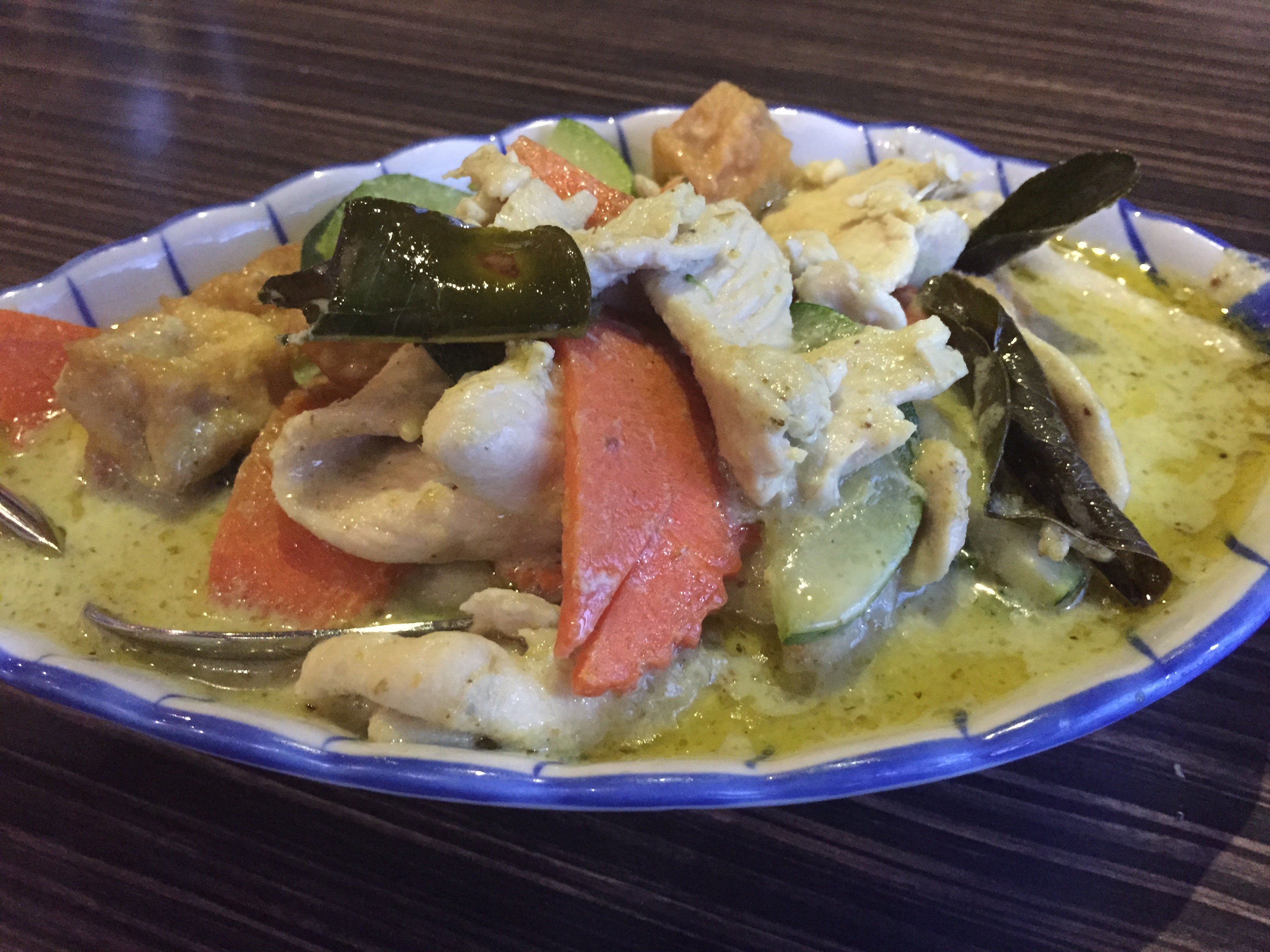 Green chicken curry recipe taste
