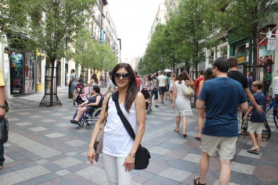 Our first day in Spain, Madrid Downtown