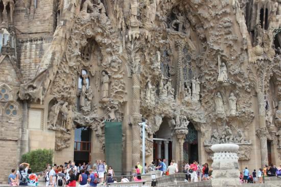 Sagrada Familia, the masterpiece of Antoni Gaudi